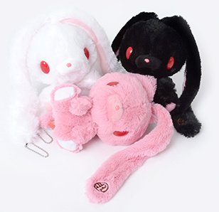 Chacks GP Hanyo Usagi Fluffy Ver. Plushie