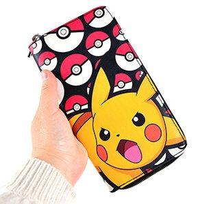 Pokémon Pikachu Zip-Around Wallet