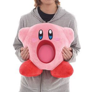 Kirby Big Inhaling Plush