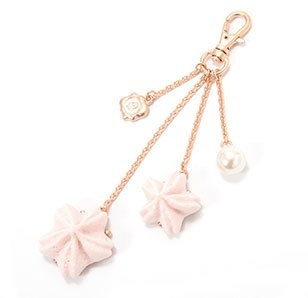 Marché du Q-pot. Sakura Blossom Meringue Bag Charm