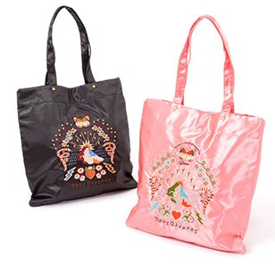 FLAPPER Sukajan Embroidered Flat Tote