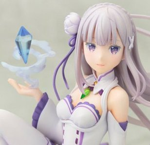 Ani Statue Re:Zero -Starting Life in Another World- Emilia (Re-run)