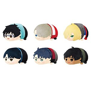 [Animate Exclusive] Mochi Mochi Plush Yuri!!! on Ice Box Set