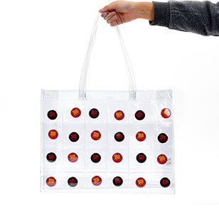 Fans Clear Pocket Tote Bag