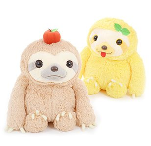 Namakemono no Mikke Nakayoshi Sloth Plush Collection (Big)