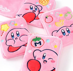 Kirby Plush Wallet-Style Pass Cases
