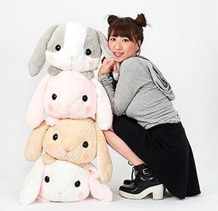 Pote Usa Loppy Tsumikko Rabbit Plush Collection (Big)