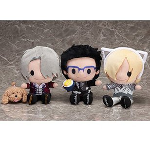 Honey Bebe: Yuri!!! on Ice Costume Ver. Plush Collection