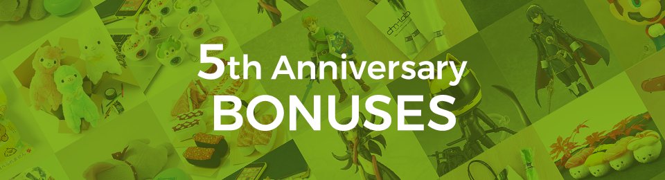 5th Anniversary Bonuses