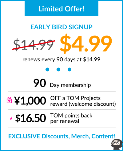 Limited Offer! EARLY BIRD SIGNUP: $4.99. renews every 90 days at $14.99
