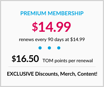 PREMIUM MEMBERSHIP $14.99 renews every 90 days at $14.99