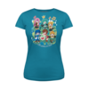 Vocaloid Sing a Song Turquoise Women's T-Shirt
