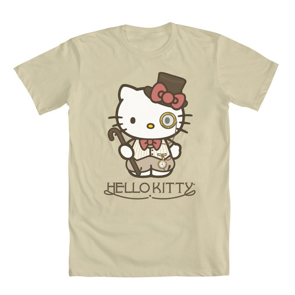 8fc3f2e5f1d34 Hello Kitty Top Hat T-Shirt