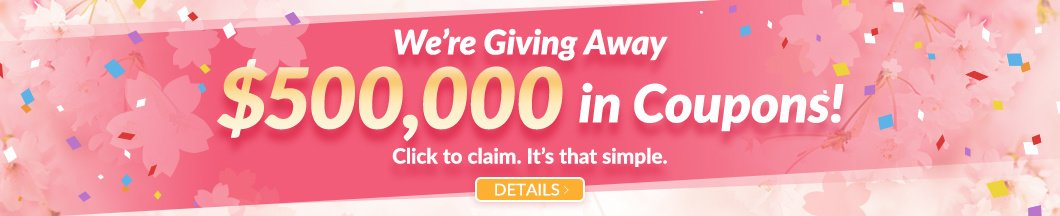 Win a coupon up to $100 in our Spring Coupon Event!