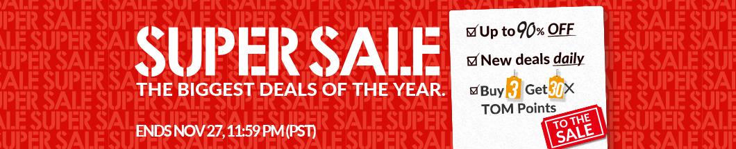 TOM Super Sale