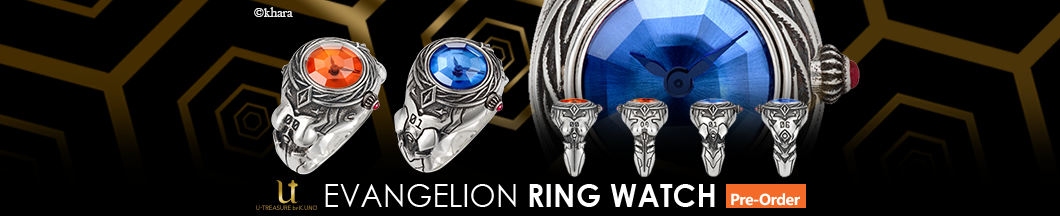 EVANGELION RING WATCH