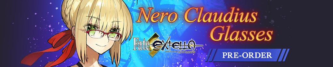 Fate/EXTELLA Nero Claudius Glasses