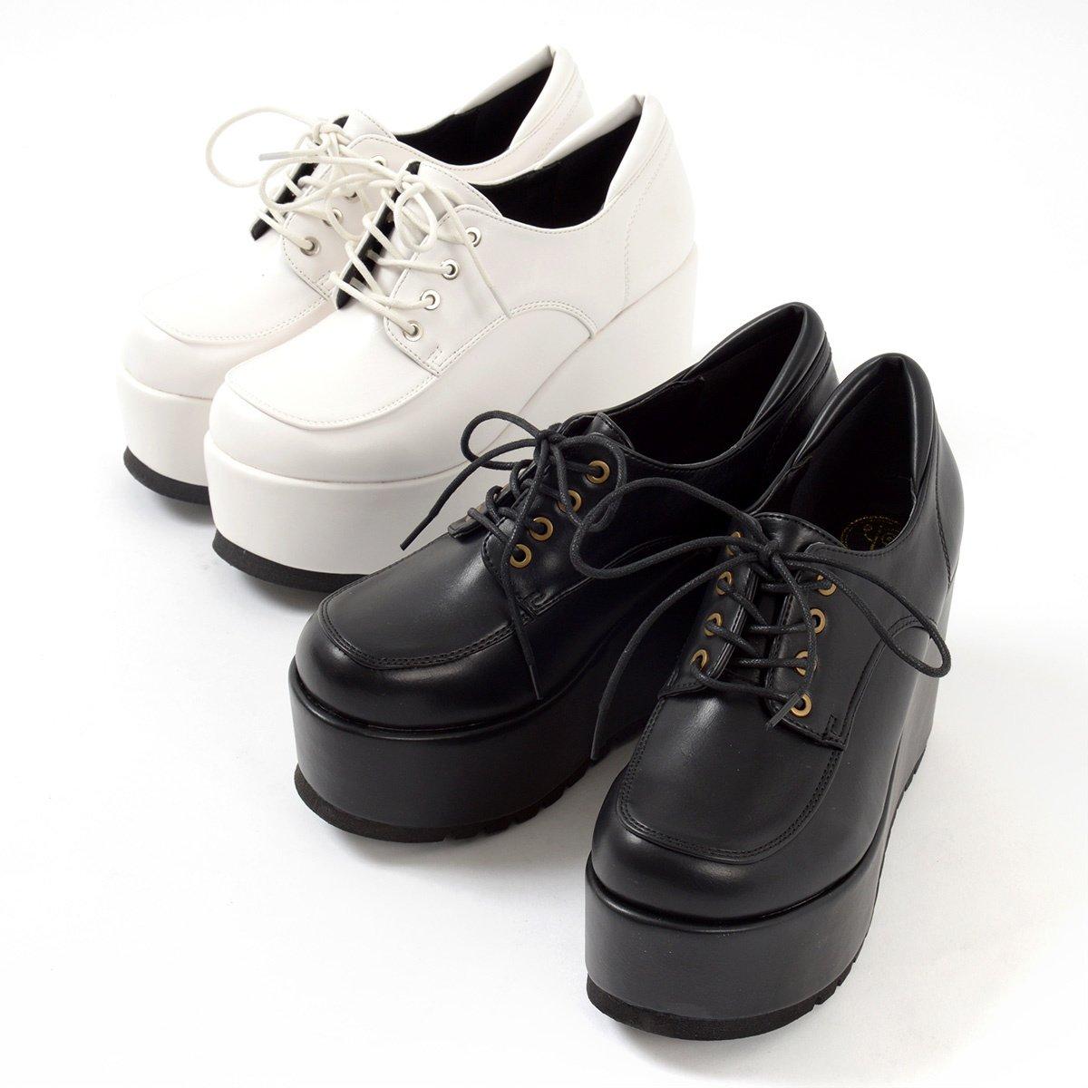a6c60104d5a YOSUKE USA Platform Lace-Up Shoes