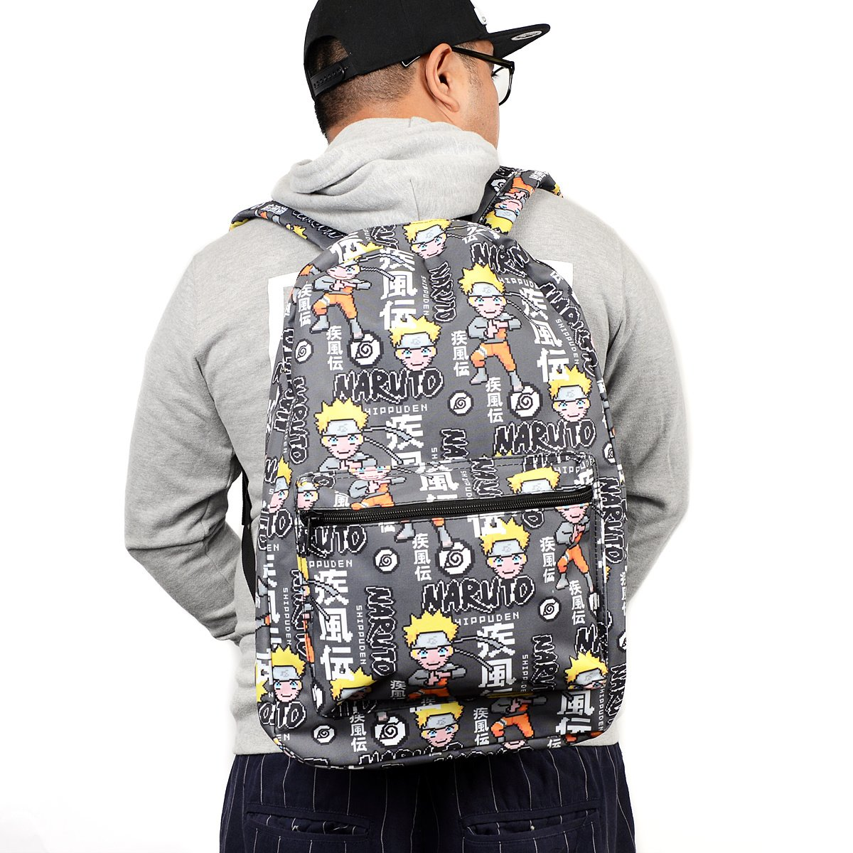 fff34d75a566 Naruto Shippuden Sublimated Backpack