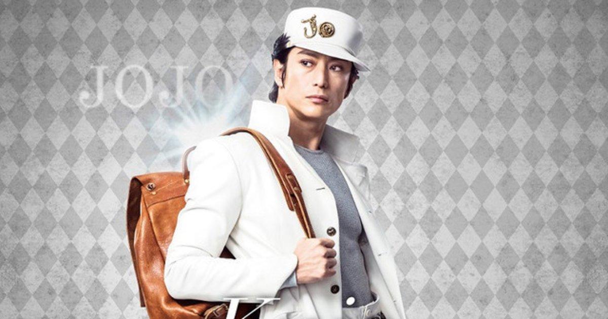 new jojo visual features iseya yusuke as kujo jotaro