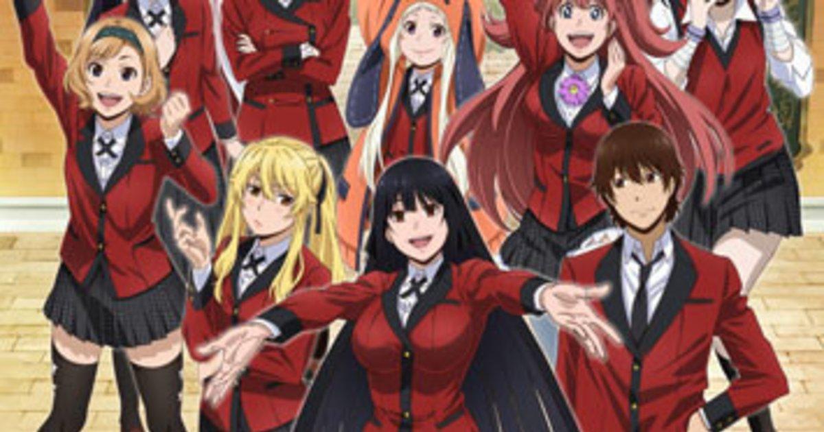 Kakegurui Compulsive Gambler Confirms Season 2 Tokyo