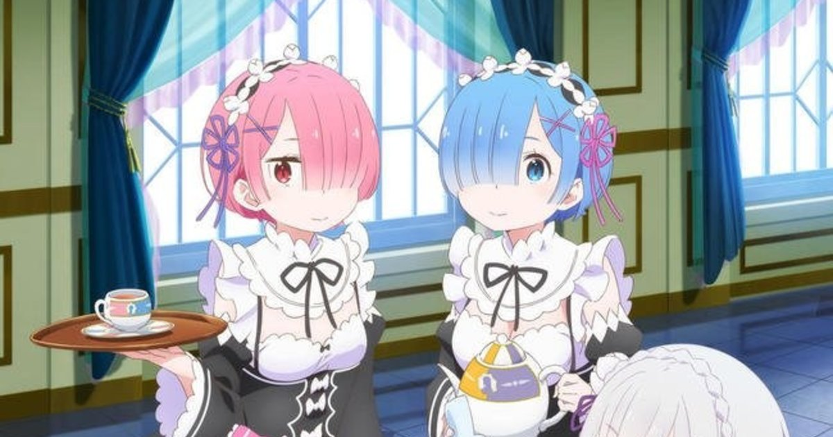 Tuned In Tokyo >> Have Some Tea With Rem at the Re:Zero Tea Party Pop-up Cafe! | Tokyo Otaku Mode News