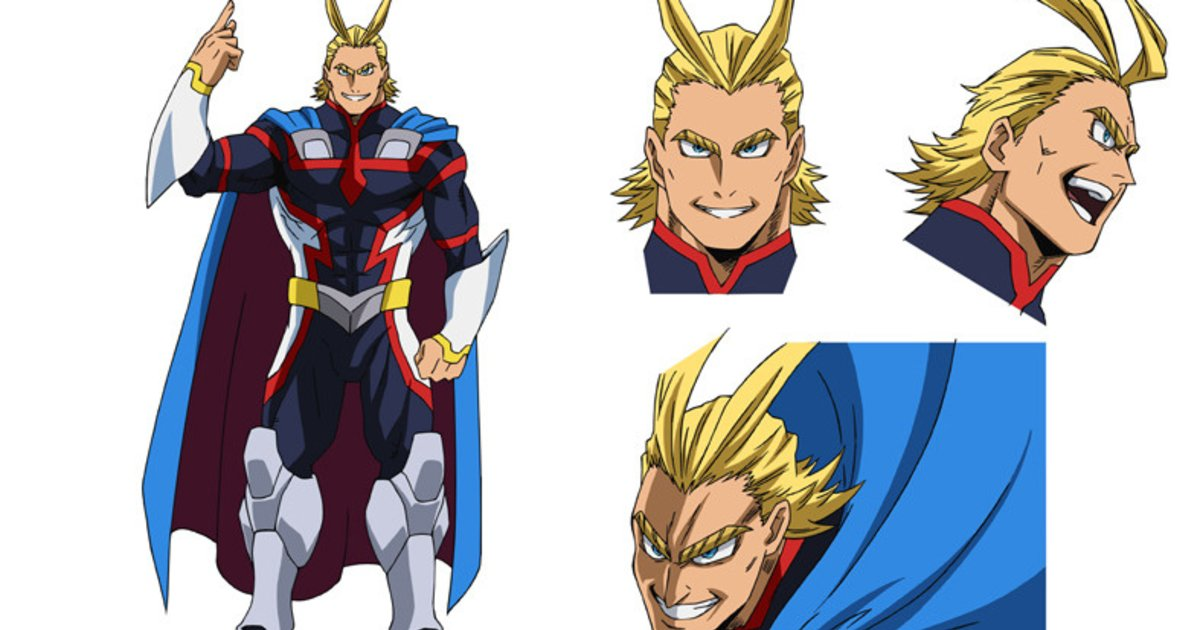 Get A Look Of Young All Might In Mha Movie Visuals