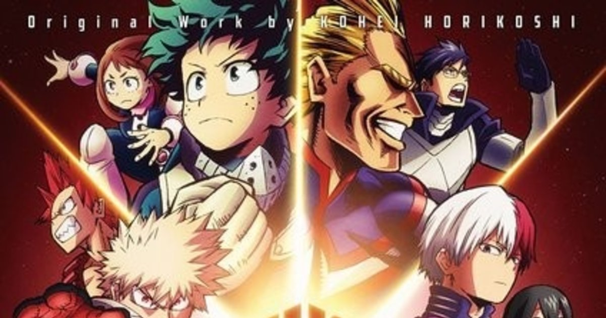 cbd79f854229 My Hero Academia and Avengers Team Up for a Super Promotion!