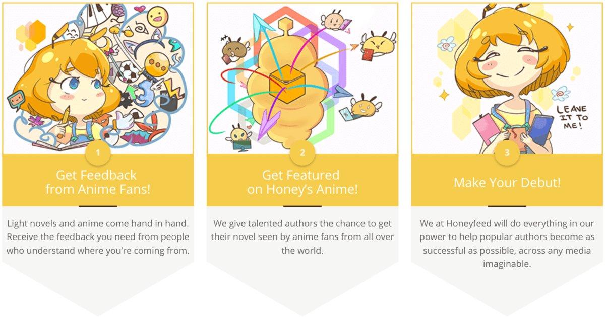 Honey's Anime Launches English-language Light Novel Platform | Tokyo