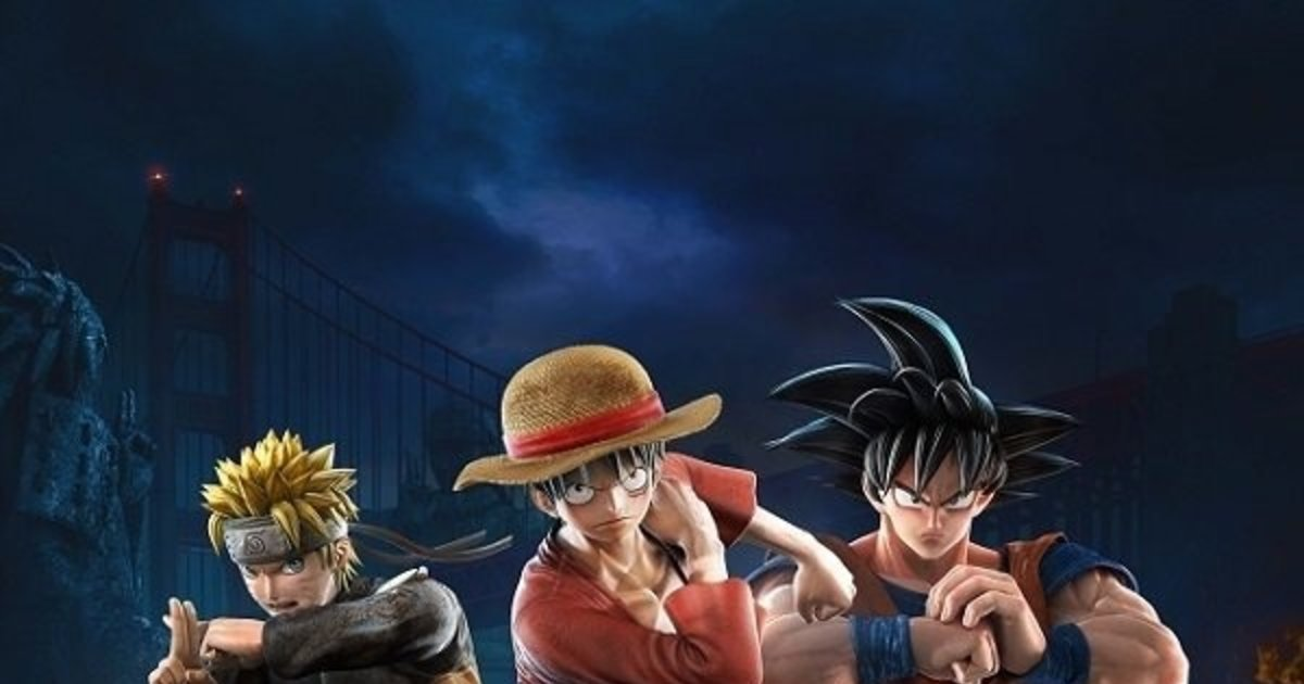 Meet The Heroes Of Shonen Jump Fighting Game Jump Force