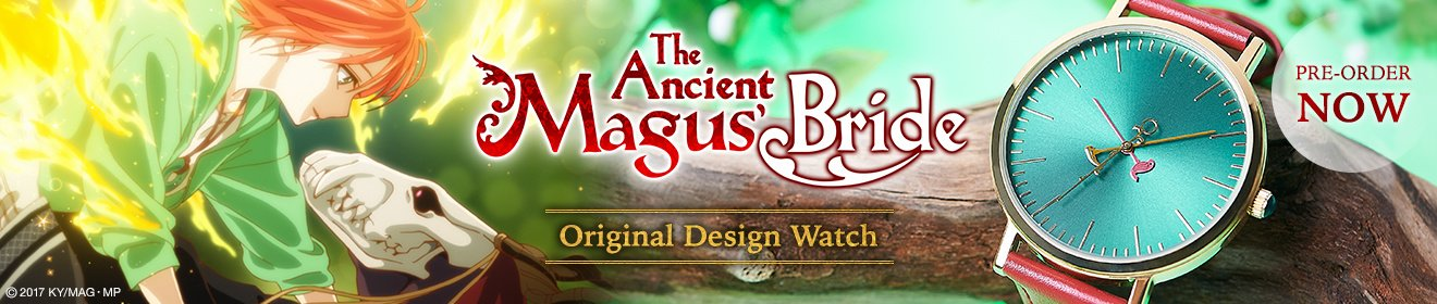 The Ancient Magus' Bride Original Design Watch