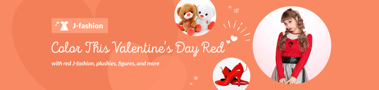Color This Valentine's Day Red ♡