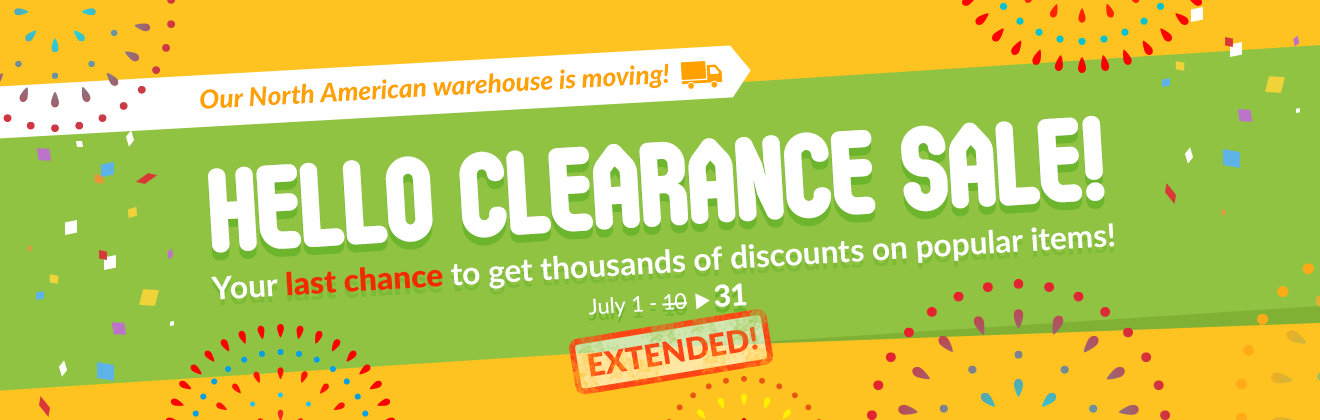 Hello Clearance Sale