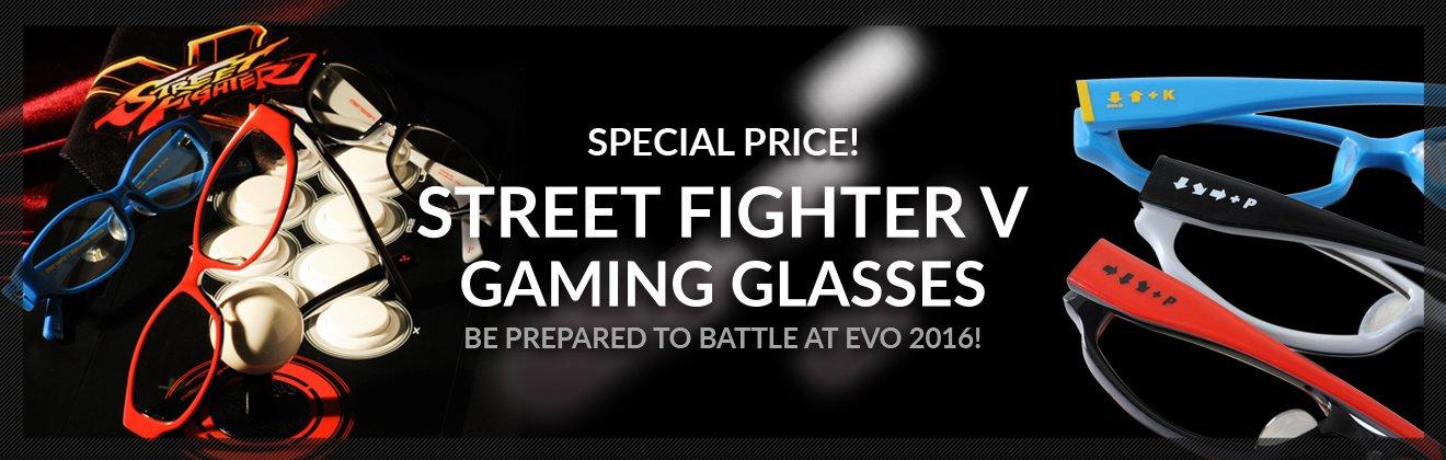 Street Fighter V Gaming Glasses