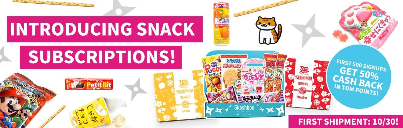 Tokyo Otaku Mode Subscriptions Snack