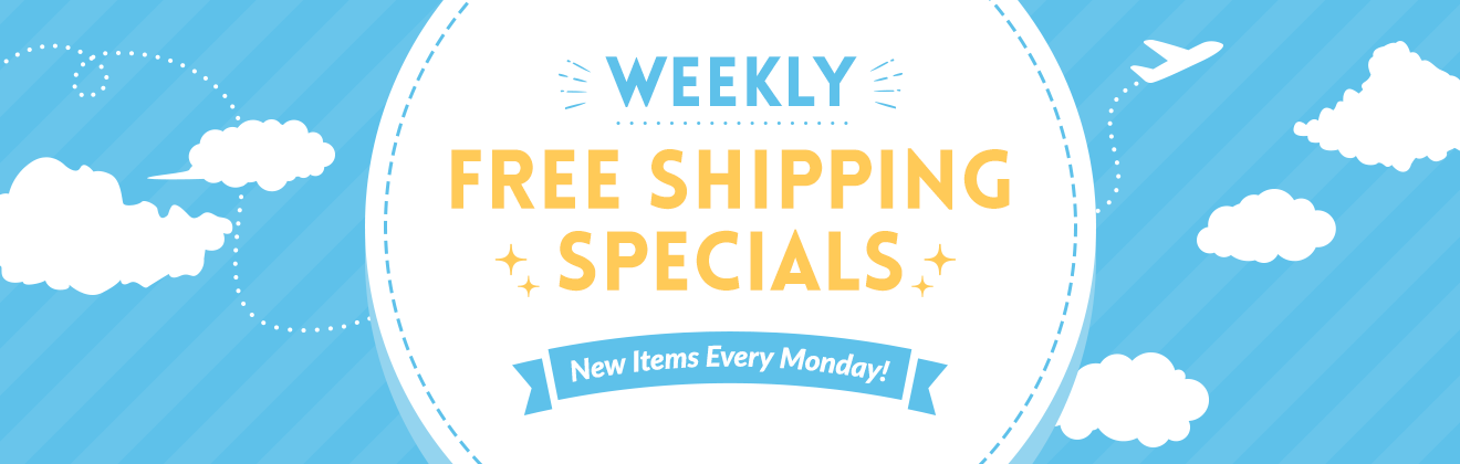 Weekly Free Shipping Specials
