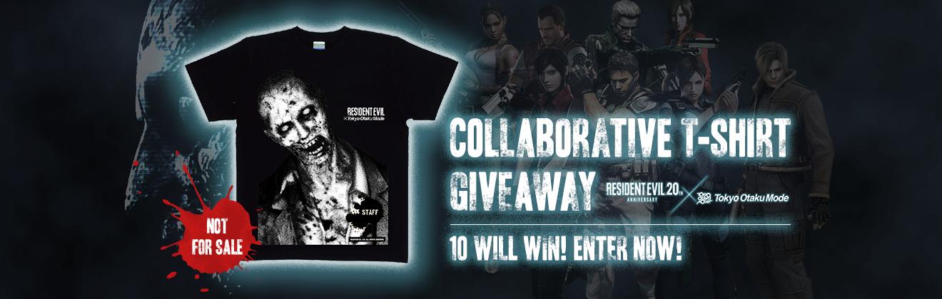 Resident Evil × Tokyo Otaku Mode Exclusive Collaborative T-Shirt Giveaway