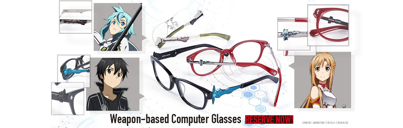 SAO Computer Glasses