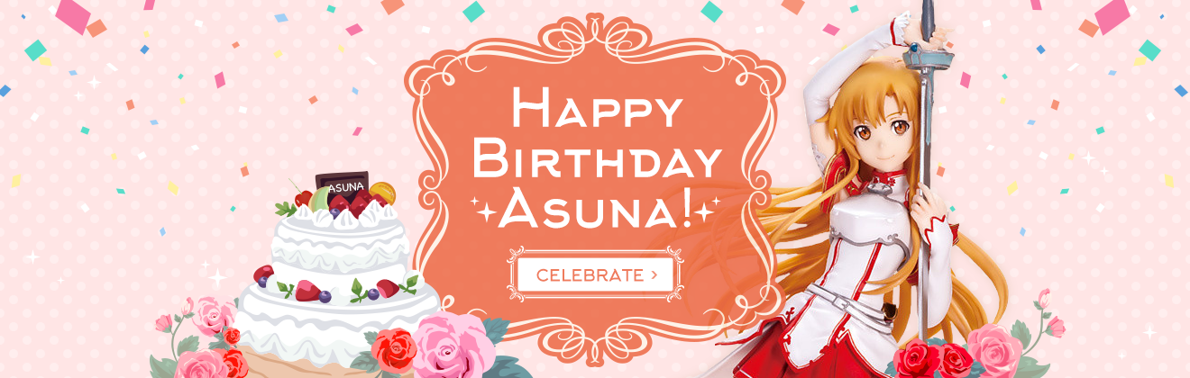 Happy Birthday Asuna!