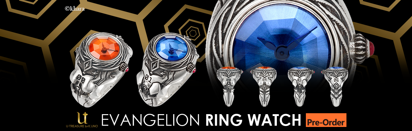 EVANGELION x Ring Watch
