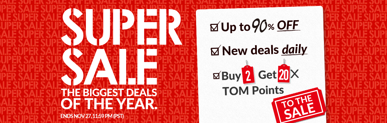 TOM Super Sale