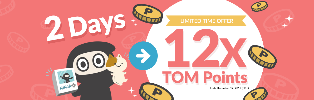 12X TOM Points