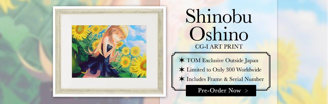 Shinobu Oshino Art Print