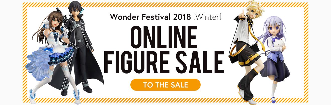 Wonder Festival 2018 Online Figure Sale