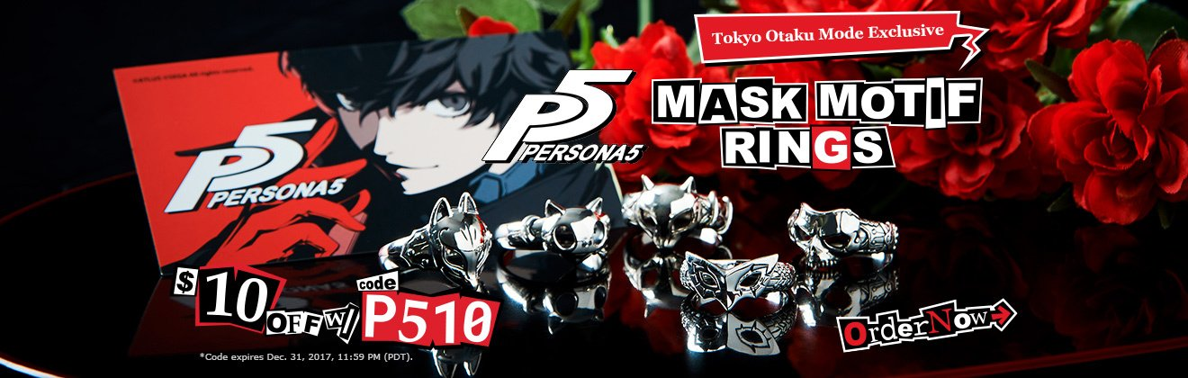 Persona 5 Rings