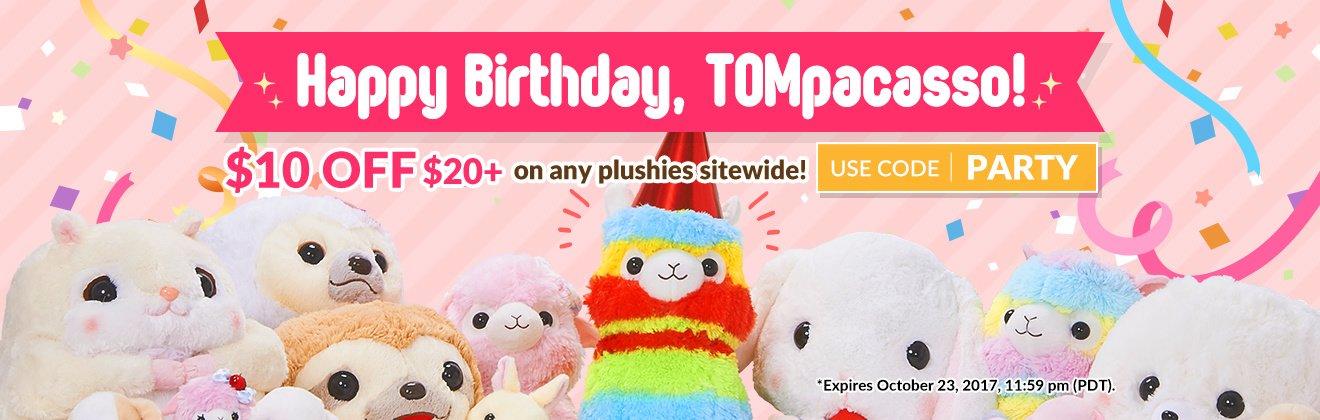 TOMpacasso Birthday 2017
