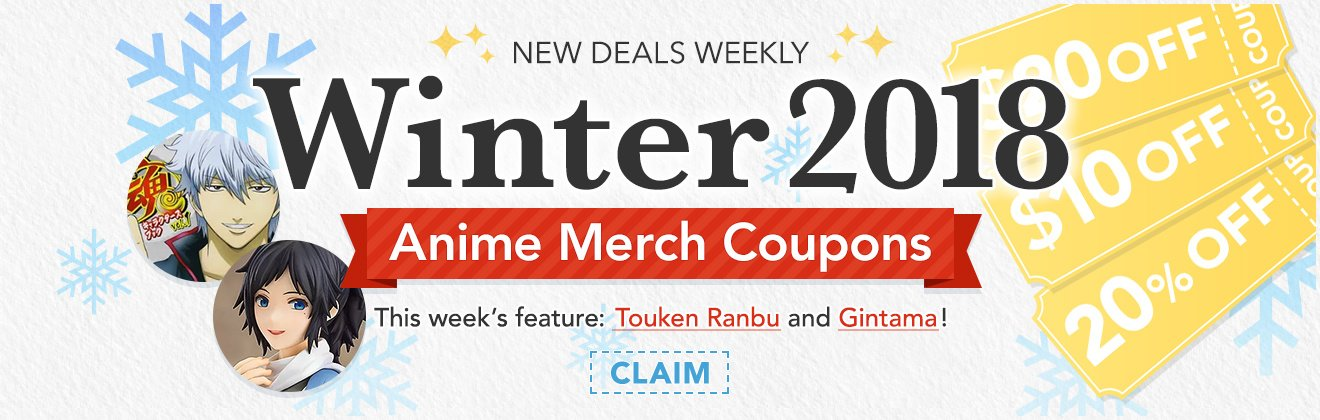Winter Anime Coupons - Week 2