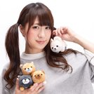 Mameshiba San Kyodai Deshi to Nesoberi Vol. 2 Dog Plush Collection (Ball Chain)