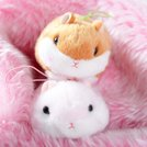 Coroham Coron Mocchiri Hamster Plush Collection (Mini Strap)