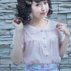 KOKOkim Angel Wing Blouse